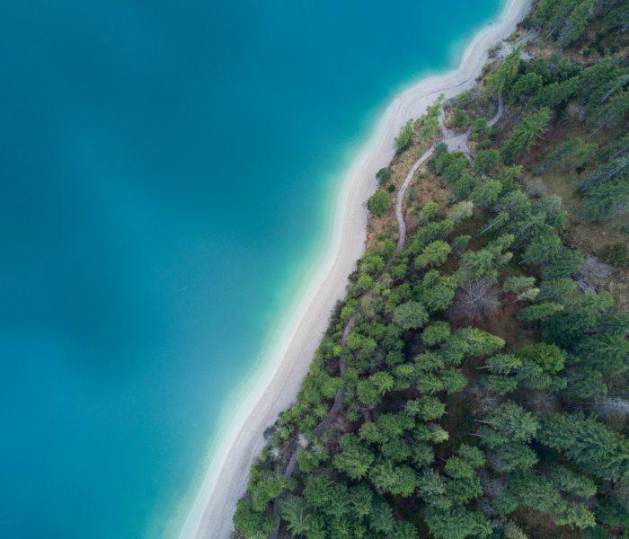 奥地利的湖