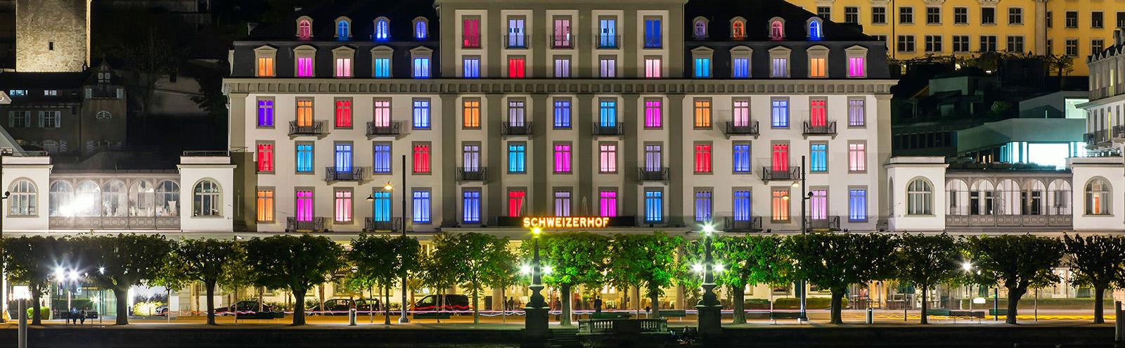 坐拥雪山湖畔-Schweizerhof Luzern 卢塞恩瑞士迎宾馆